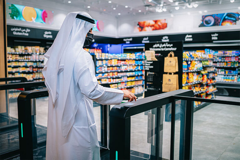 A new shop launches in Dubai with no staff and no checkout counter