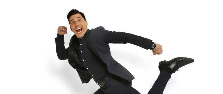 Three times Russell Kane made us cry with laughter