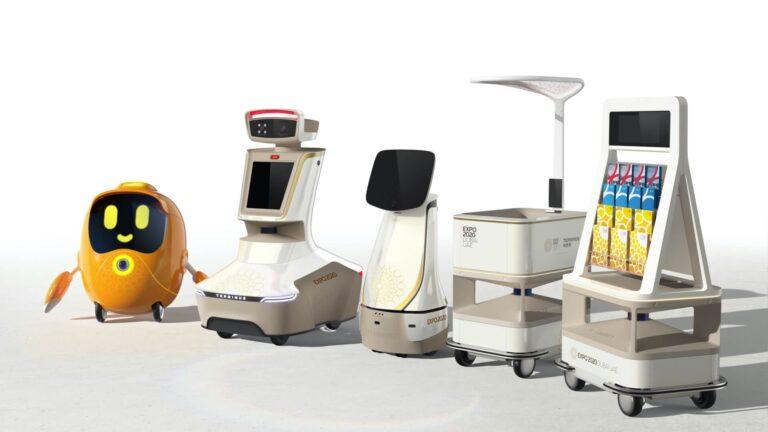 Robots will take you around Expo 2020 Dubai - and even make you coffee