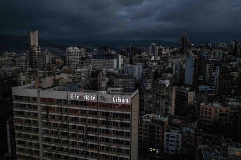 Power restored to Beirut after weekend shut down