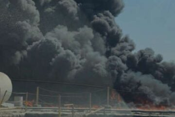Large fire breaks out at Jebel Ali