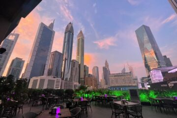 Original Wings and Rings re-open their stunning DIFC terrace