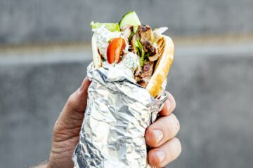 IT's Shawarma week on Deliveroo and we're very excited