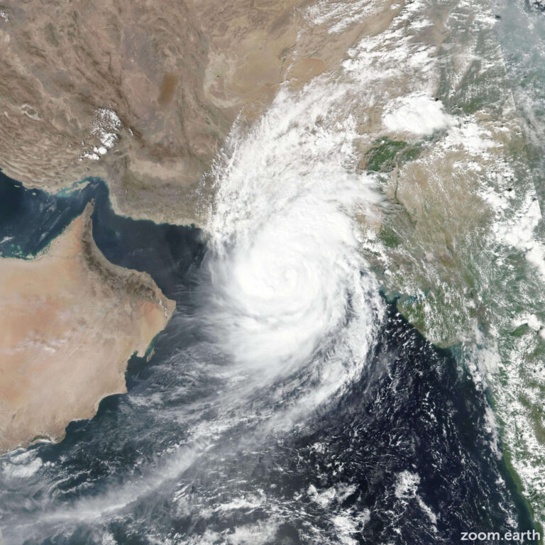 Tropical storm Shaheen hits UAE with high winds and rain